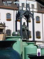 Lutherdenkmal 2000 Töpfermarkt